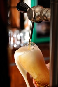 Filling a Beer Glass